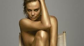 CHARLIZE THERON – GOLD POWER WOMAN