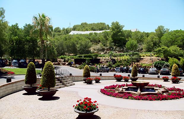 Gardens entrance