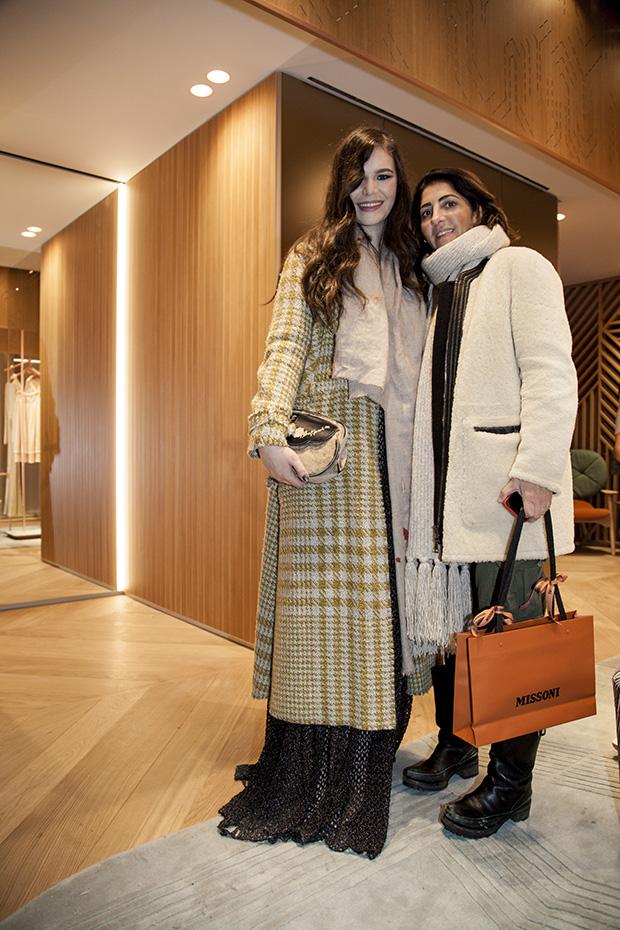 TERESA MISSONI & SOPHIE LEVY