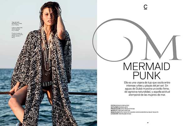 MERMAID PUNK by STROKE PARIS HANDMADE CASHMERE